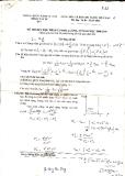 Đề thi môn: Cơ học lượng tử năm học 2008 - 2009