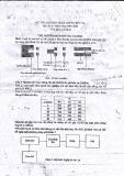 Đề thi phương pháp ghi đo bức xạ