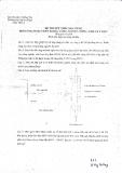 Đề thi môn ứng dụng Vliin trong công nghiệp, nông, sinh và y học