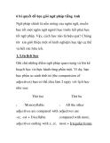 6 bí quyết để học giỏi ngữ pháp tiếng Anh