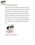 20 câu đố vui tiếng Anh