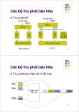 Bài giảng : Kỹ thuật điện thoại - Báo hiệu trong điện thoại part 3