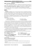 Tài liệu luyện thi Đại học -  READING COMPRENSION SKILLS
