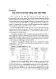 Chương 4 Cấu trúc và Chức năng của các RNA