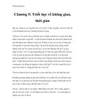 Chống Duyhring I - Chương 5: Triết học về không gian, thời gian