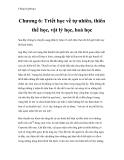 Chống Duyhring I - Chương 6: Triết học về tự nhiên, thiên thể học, vật lý học, hoá học