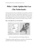 Thử tìm giải pháp thủy lợi cho đồng bằng sông Cửu Long -  Phần 1: Kinh Nghiệm Hoà Lan (The Netherlands)