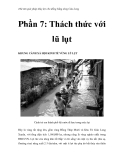 Thử tìm giải pháp thủy lợi cho đồng bằng sông Cửu Long - Phần 7: Thách thức với lũ lụt