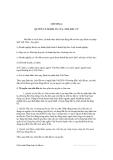 GIÁO TRÌNH LUÂT ĐẦU TƯ - CHƯƠNG 4