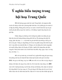 Thư pháp và hội họa Trung Quốc - Ý nghĩa biểu tượng trong hội hoạ Trung Quốc