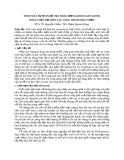 TÍNH TOÁN SỰ PHÂN BỐ CỦA HÀM LƯỢNG KHÔNG KHÍ TRONG DÒNG CHẢY HỞ TRÊN CÁC CÔNG TRÌNH THÁO NƯỚC