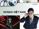 Bài thuyết trình: Honda Việt Nam