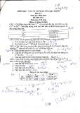 Đề thi khóa 33 trường ĐHSP năm 2 khoa vật lý năm 2009 - Vật lý lò phản ứng hạt nhân