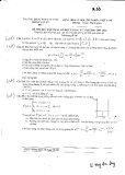 Đề thi khóa 33 trường ĐHSP năm 3 khoa vật lý - Cơ điện tử