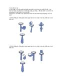 5 cách thắt cà vạt