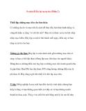 8 cách để lấy lại sự tự tin (Phần 2)