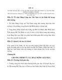 BÁO CÁO BAN HÀNH ĐIỀU LỆ TRƯỜNG THCS, THPT VÀ PT CÓ NHIỀU CẤP HỌC  phần 4