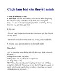 Cách làm bài văn thuyết minh_1