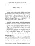 Quản lý dữ liệu trong nghiên cứu môi trường - Chương 3