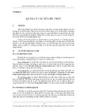 Quản lý dữ liệu trong nghiên cứu môi trường - Chương 4