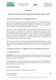 Mạng lưới thoát nước - Chương 2