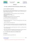 Mạng lưới thoát nước - Chương 4
