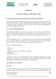 Mạng lưới thoát nước - Chương 6