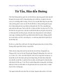 Vài nét về sự phát triển của Triết học Trung Hoa - Từ Tần, Hàn đến Đường