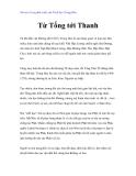 Vài nét về sự phát triển của Triết học Trung Hoa - Từ Tống tới Thanh