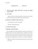 Giáo trình quá trình và thiết bị truyền khối - Bài 1