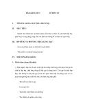 Giáo trình quá trình và thiết bị truyền khối - Bài 2