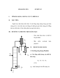 Giáo trình quá trình và thiết bị truyền khối - Bài 6