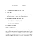 Giáo trình quá trình và thiết bị truyền khối - Bài 7
