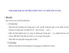 Giáo án đại số lớp 10: GIÁ TRỊ LƯỢNG GIÁC CỦA MỘT GÓC (CUNG)