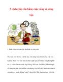 5 cách giúp cân bằng cuộc sống và công việc
