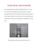 Tư duy tích cực Nửa cốc nước đầy