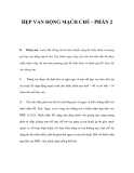 HẸP VAN ĐỘNG MẠCH CHỦ - PHẦN 2