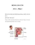 BỆNH CẢM CÚM (FLU) - Phần I