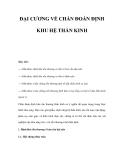 ĐẠI CƯƠNG VỀ CHẨN ĐOÁN ĐỊNH KHU HỆ THẦN KINH