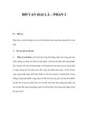 HỞ VAN HAI LÁ – PHẦN 2