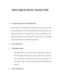 PHÒNG CHỐNG TRÀN DỊCH MÀNG NGOÀI TIM