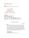 Định lý Ptolemy