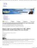 Quản Lý Client Access trên Exchange Server 2007 - Phần II