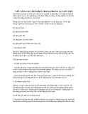 5 KỸ NĂNG CẦN THỂ HIỆN TRONG PHỎNG VẤN XIN VIỆC