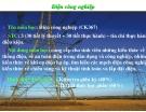 Điện công nghiệp - Hệ thống khái quát