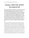 Khái quát về nền kinh tế Mỹ - Chương 3: TÓM LƯỢC LỊCH SỬ NỀN KINH TẾ MỸ