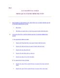 Giáo trình luật hành chính - Bài 2 CÁC NGUYÊN TẮC CƠ BẢN TRONG QUẢN LÝ HÀNH CHÍNH NHÀ NƯỚC