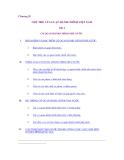 Giáo trình luật hành chính - Bài 4 CƠ QUAN HÀNH CHÍNH NHÀ NƯỚC
