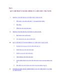 Giáo trình luật hành chính - Bài 5: QUY CHẾ PHÁP LÝ HÀNH CHÍNH CỦA VIÊN CHỨC NHÀ NƯỚC