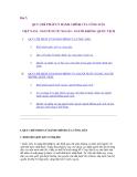 Giáo trình luật hành chính - Bài 7: QUY CHẾ PHÁP LÝ HÀNH CHÍNH CỦA CÔNG DÂN VIỆT NAM - NGƯỜI NƯỚC NGOÀI - NGƯỜI KHÔNG QUỐC TỊCH